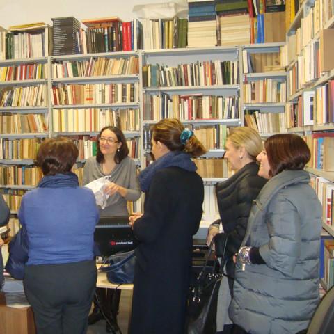 Visita alla Libreria Marini di Valenzano (BA)