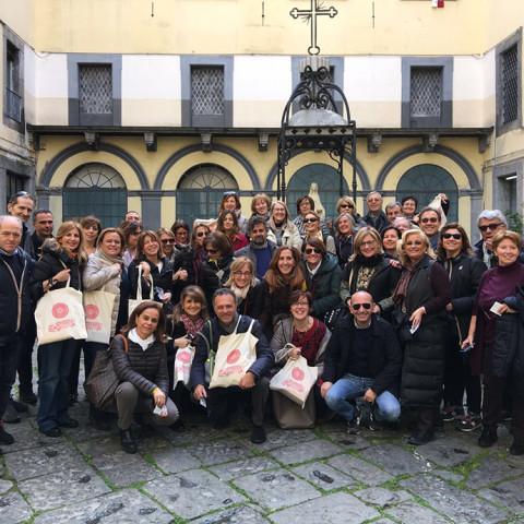A Napoli con Antonella Cilento