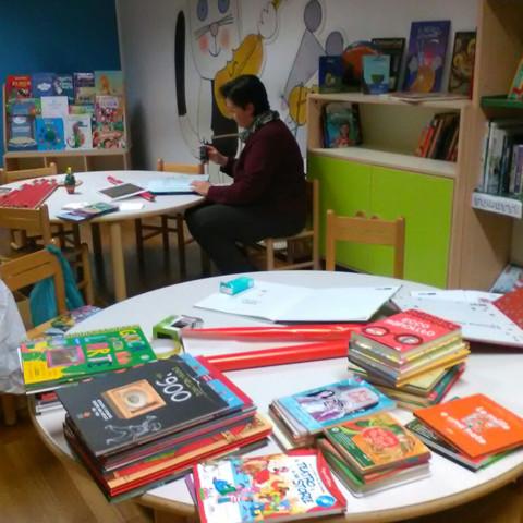 Biblioteca dei piccoli artisti