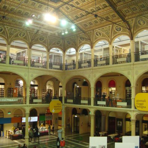Visita alla Biblioteca Salaborsa di Bologna
